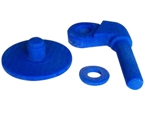 Printed wax parts from a wastegate system at FEINGUSS BLANK